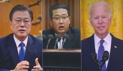 한미 종전선언 시각차…미, 북한과 대화 후 종전선언 논....