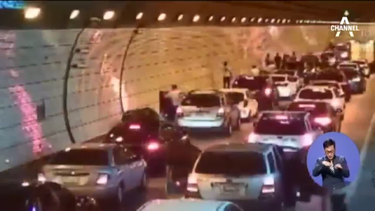 한국 터널서 사고 났을 땐…세계가 감동