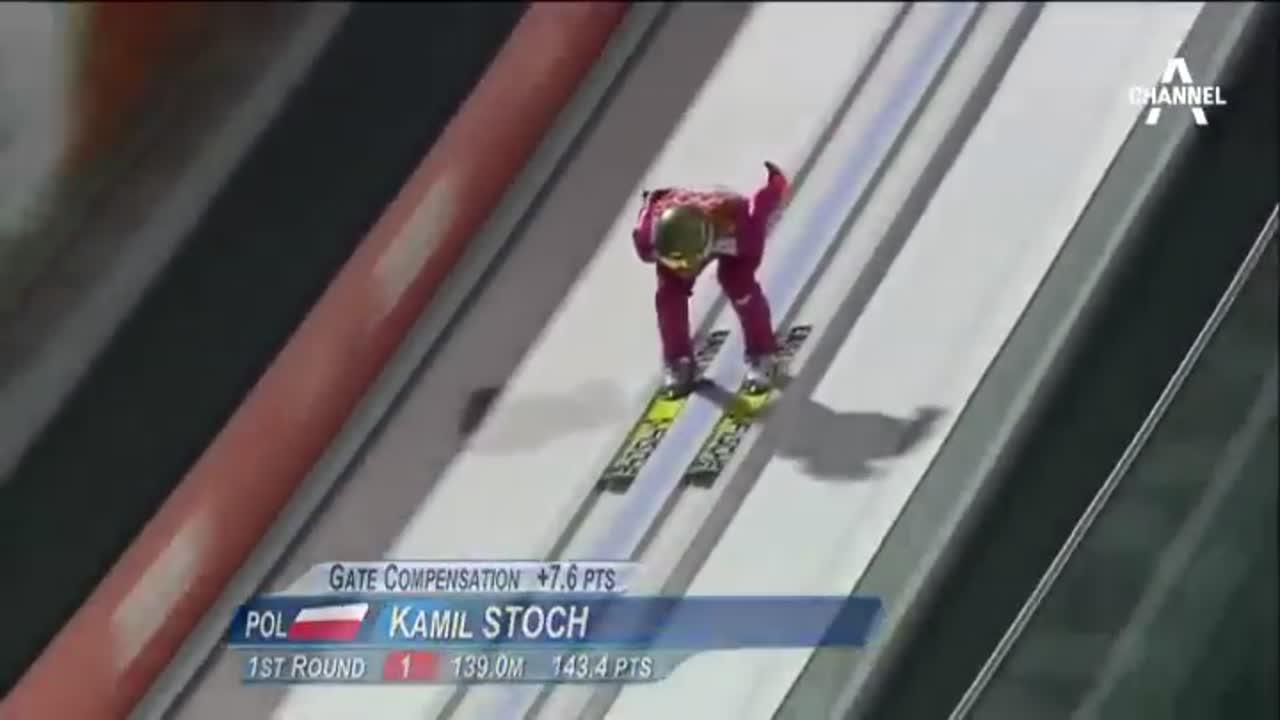 담력과 끈기 '스키의 꽃'…하나로는 부족해