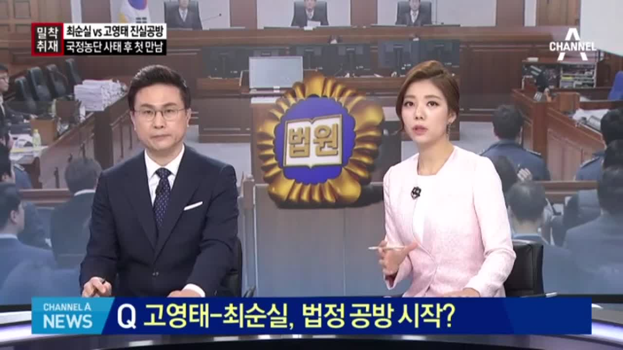 최순실, 고영태 '직접 신문'…왜?