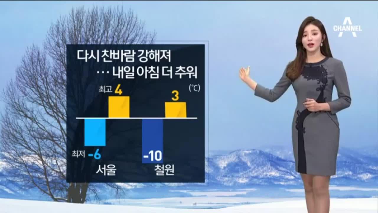 [날씨]찬바람 다시 강해져…일교차 커 '건강유의'