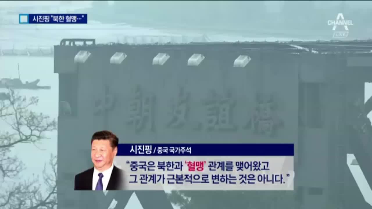 """시진핑 """"사드 치워…북한은 피를 나눈 혈맹"""""""