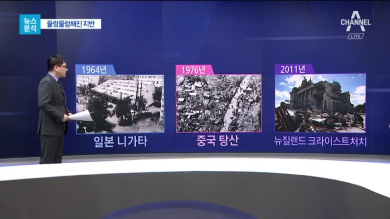 [뉴스분석]역사 속 '액상화' 기록…강한 여진 오면 '....