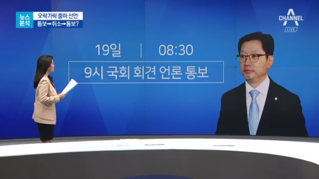 [뉴스분석]한때 불출마설 김경수, 마음 바꾼 까닭