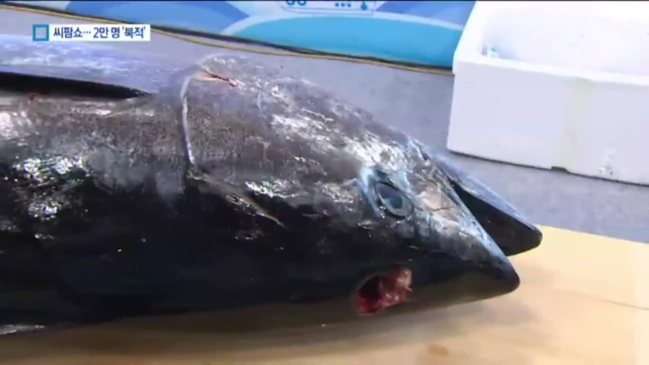 국내산 양식 참다랑어까지…2만 명 찾은 씨팜쇼