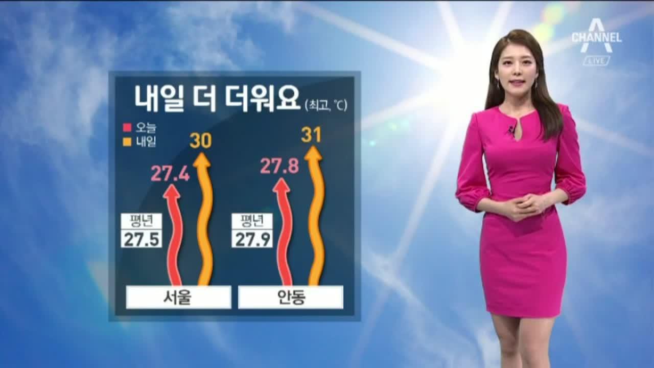 [날씨]내일 더 더워요…전국 자외선 '매운 높음'