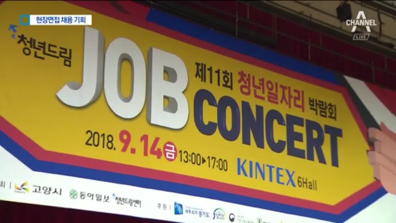 박람회 5천 명 방문 성황…청년드림 잡콘서트