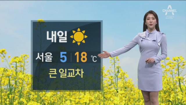 [날씨]강원·동해안 초속 25m 강풍특보…내일 큰 일교....
