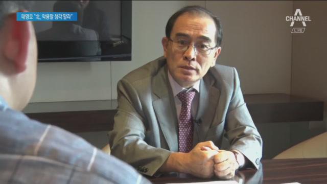 """태영호 """"안타까운 죽음, 김정은만 미소""""…탈북민에 당부"""