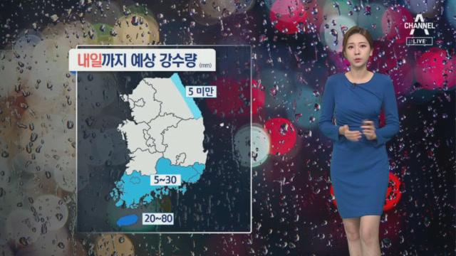 [날씨]제주 태풍 간접 영향 비바람…금요일 최대 고비