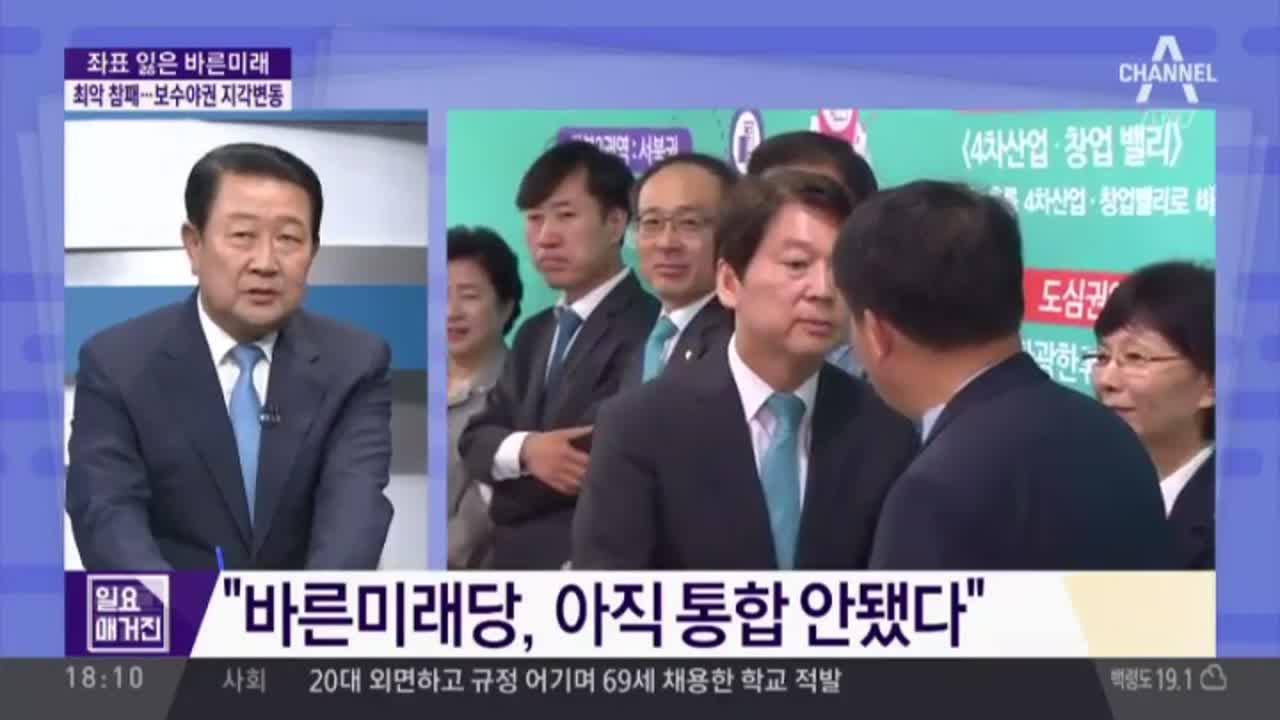 좌표 잃은 바른미래…안철수 출국·유승민 사퇴
