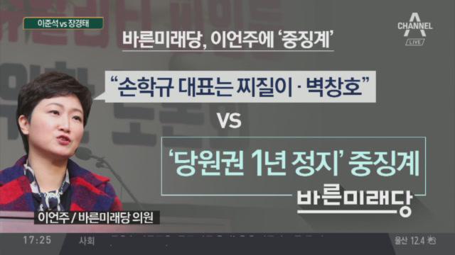 """""""징계 사유 아냐"""" vs """"손학규 리더십 한계"""""""