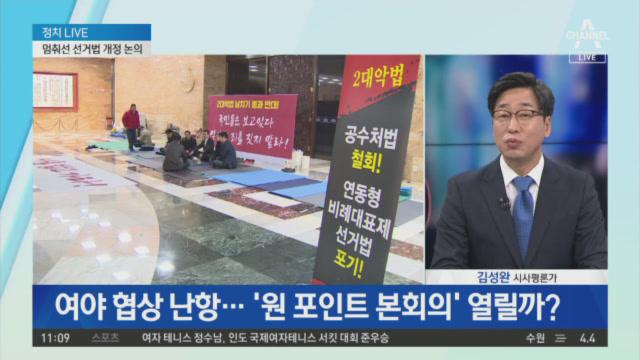 '비례한국당' 여진…성공할까, 역풍 불까