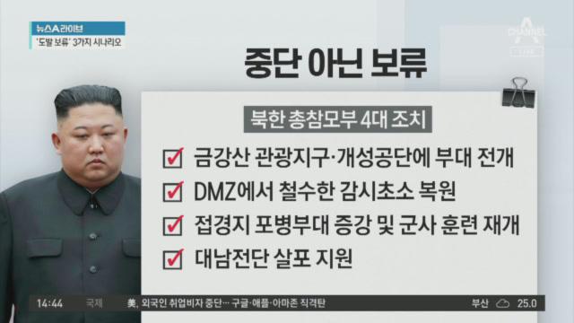 17일 만에 나타난 김정은, 군사행동 '보류' 지시