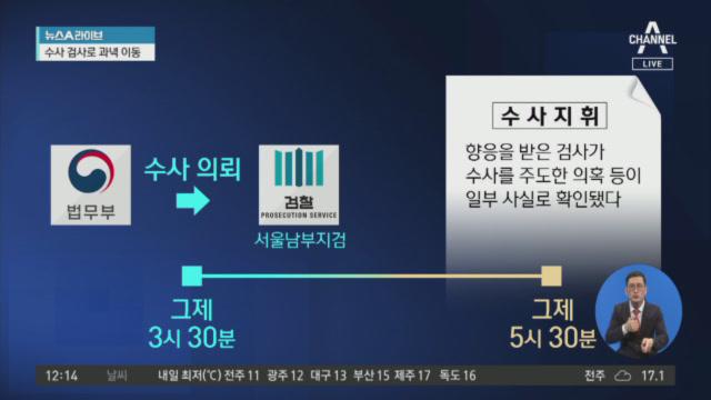 남부지검 '검사 접대' 의혹 별도 수사팀 구성