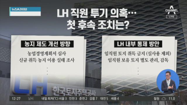 """LH 직원 '땅 투기' 사례…""""국민 제보 받습니다"""""""