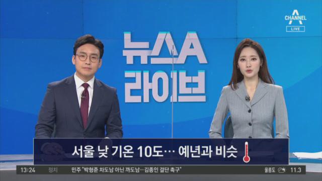 3월 21일 뉴스A 라이브 클로징