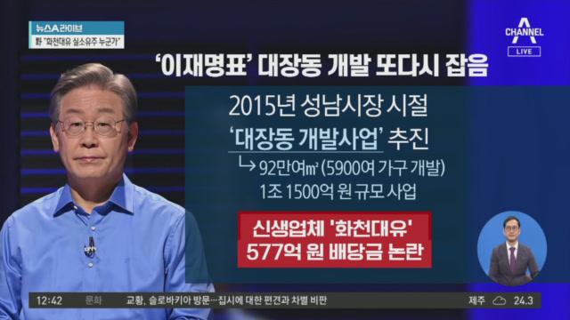 """""""3년새 1000배 수익""""…'대장동 특혜 의혹' 중심에...."""