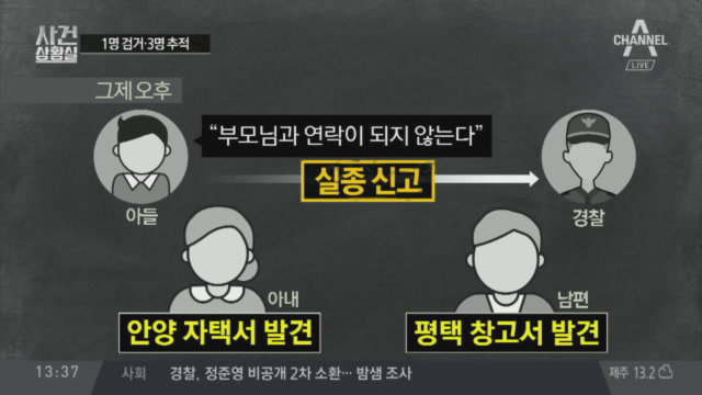 '주식 사기' 이희진 부모 피살…피의자 1명 검거·3명....