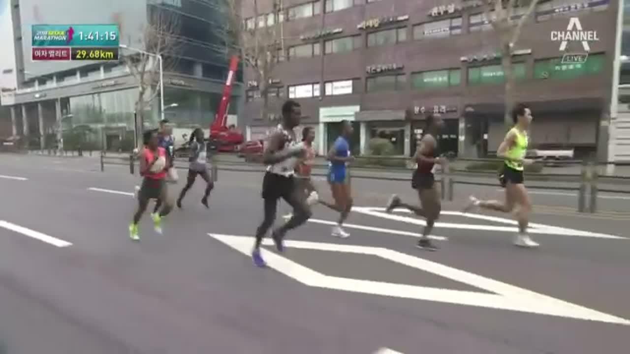 채널A 스포츠 2018 동아일보 서울 국제마라톤대회 2....