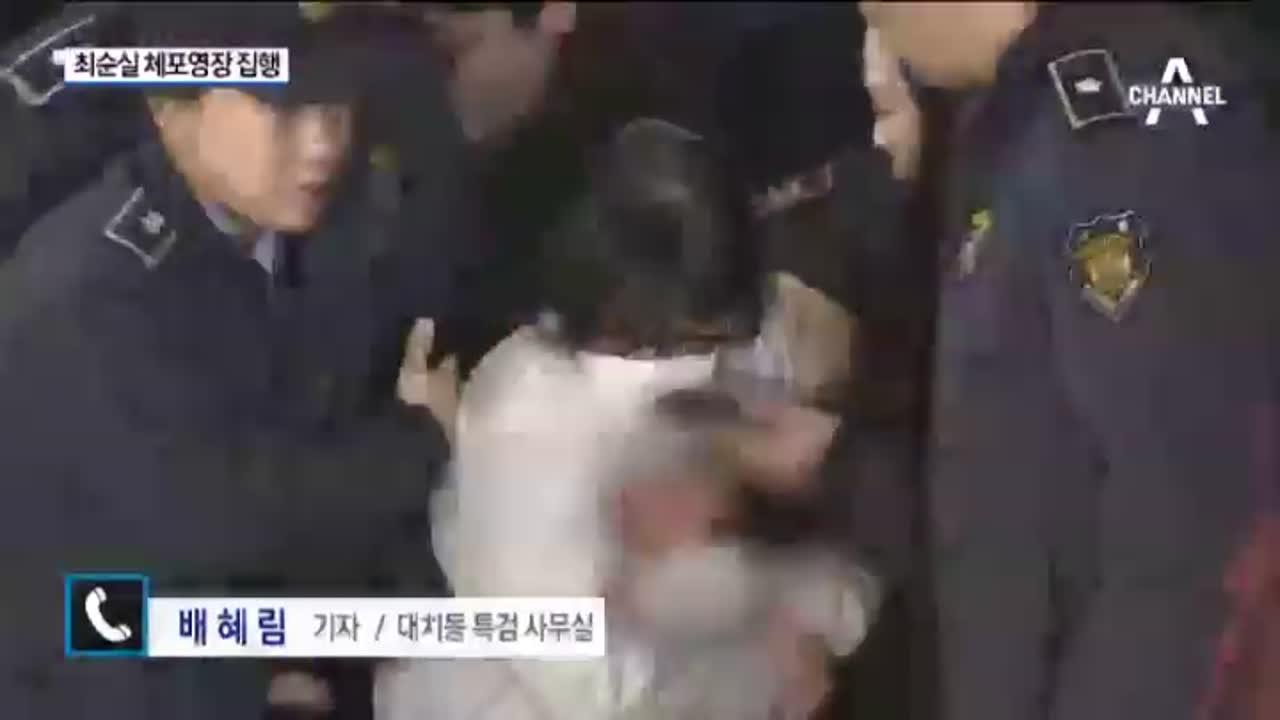 """최순실 '체포 영장'…헌재 """"3월 13일 전 결론"""""""