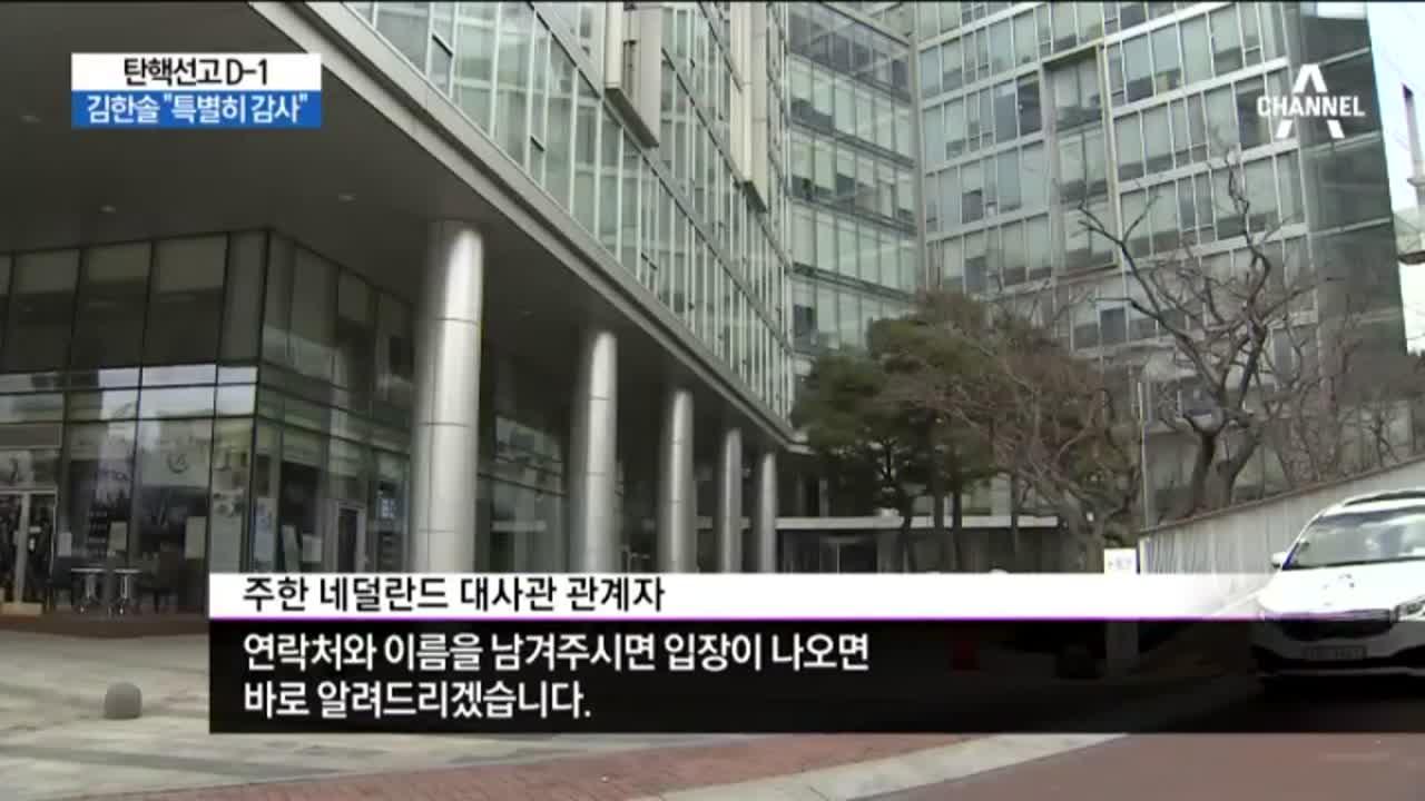 """김한솔 """"특별히 감사""""…네덜란드 대사 특급 도우미"""