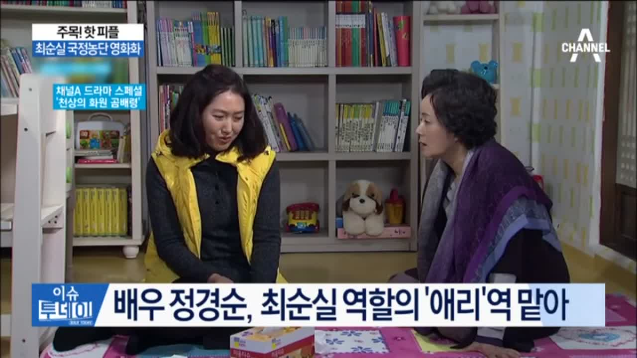 최순실 국정농단 영화화…최 씨 역에 배우 정경순