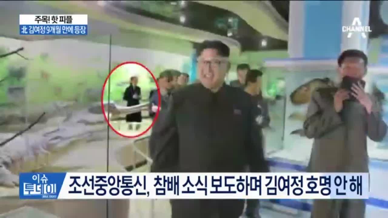 北 김여정 9개월 만에 등장…'4·27 북폭설' 확산,....