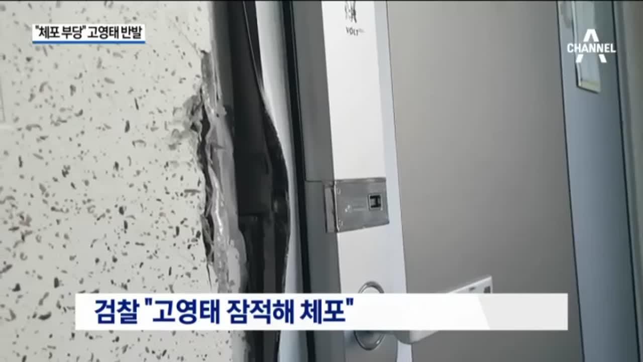 고영태, 강제 체포에 반발 '체포적부심'