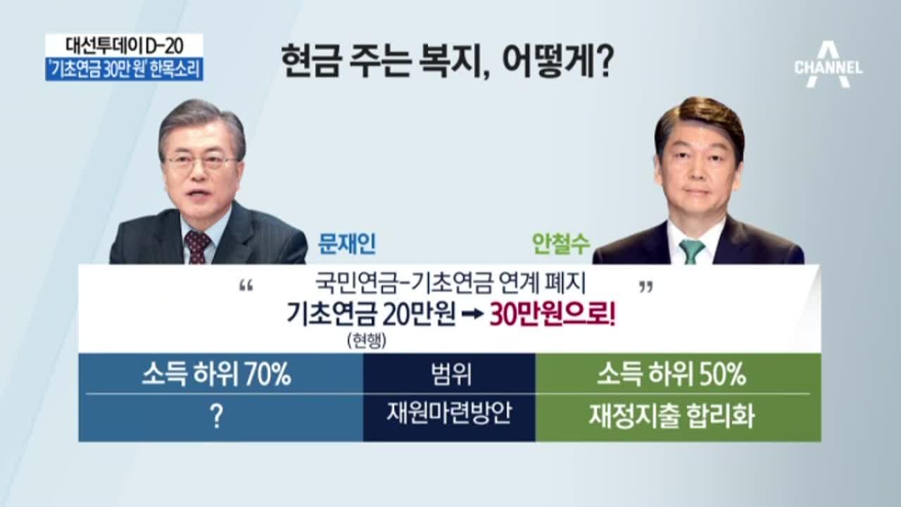 '14%' 어르신 표 잡아라…'기초연금 30만 원' 한....