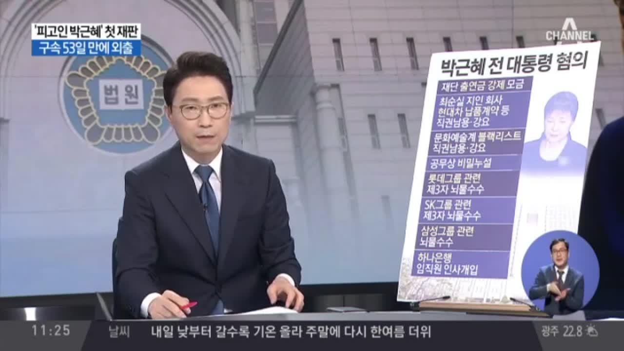 '나는 모른다' 박 전 대통령 말말말…영향은?