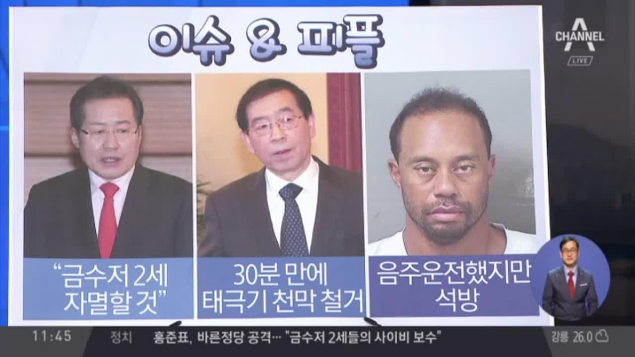 '음주' 골프 황제의 추락…법원 출두 서약 후 석방