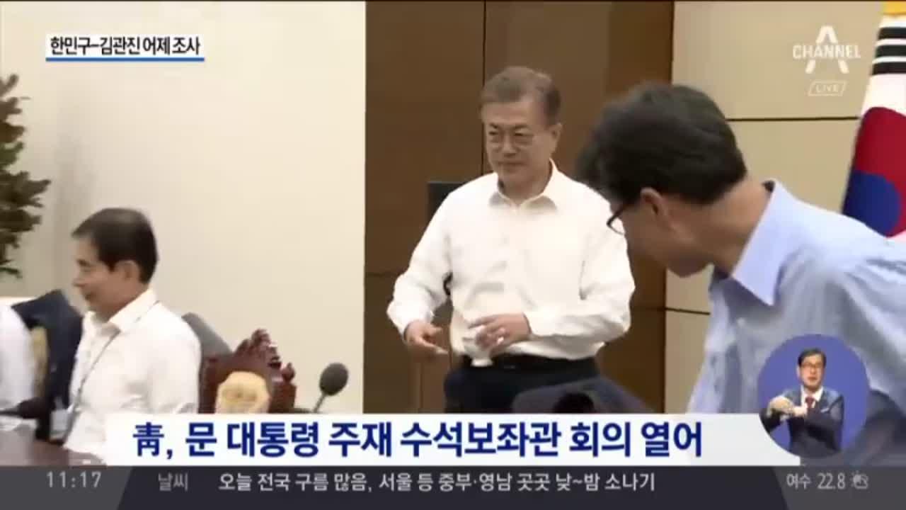 """靑 """"'고의 누락' 한민구-김관진 조사했다"""""""