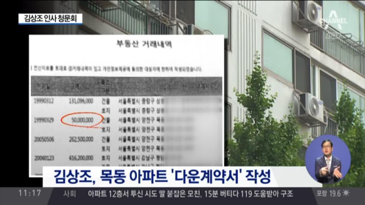 """김상조 청문회…야권 """"자진 사퇴해야"""""""