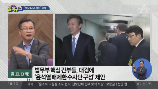 """검찰 불쾌감 고조…인사권 행사 땐 """"직권남용"""""""