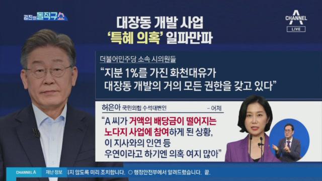 [2021.9.15 방송] 김진의 돌직구쇼 827회