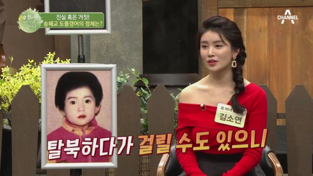 진실 혹은 거짓! 송혜교 도플갱어의 정체는?