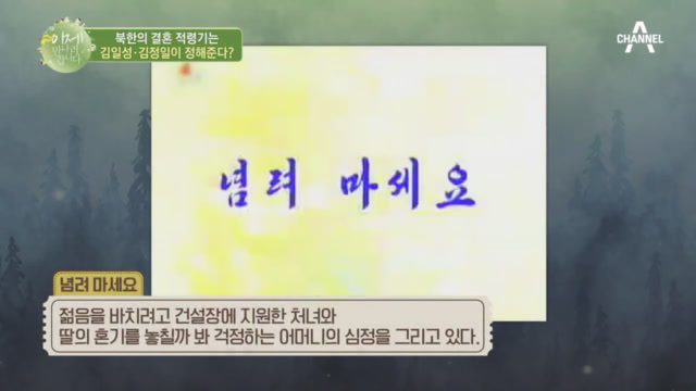 김일성&김정일이 정해주는 결혼 적령기