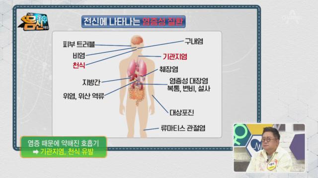 지방 세포 속 염증이 많아질 때 나타나는 문제!
