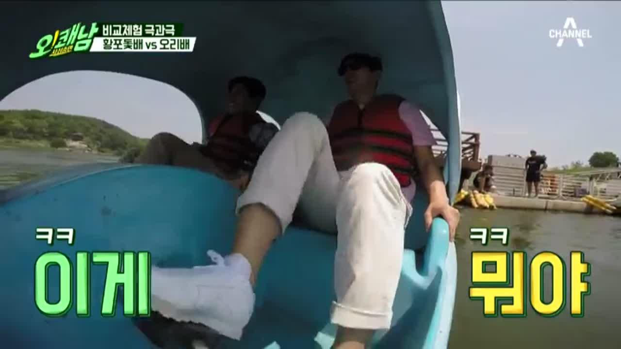 [황포돛배vs오리배] 남한강 생존 게임(?), 비교 체....